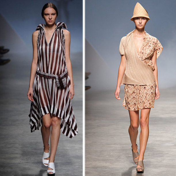 Issey Miyake Fashion Collection Spring 2011