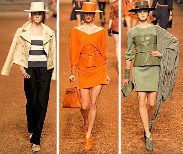 Hermes Spring Summer 2011 Fashion Collection