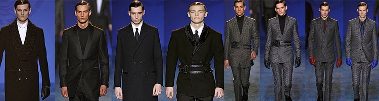 Versace Men's Fall 2011 Collection