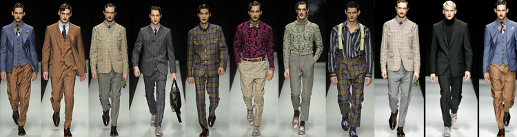 Vivienne Westwood Men's Fall 2011 Collection
