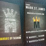 Marquis of Fashion Business cards and LV Card Case
