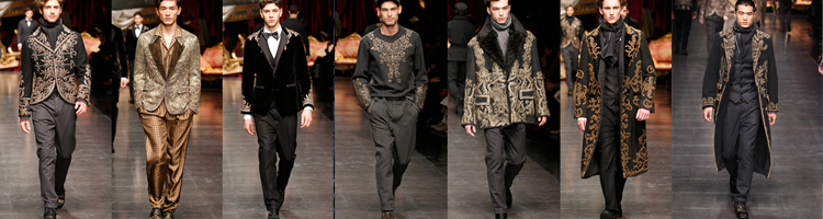 Dolce and Gabbana Mens Fall 2012