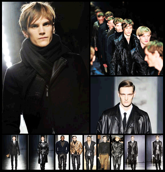Mens Leather Trend