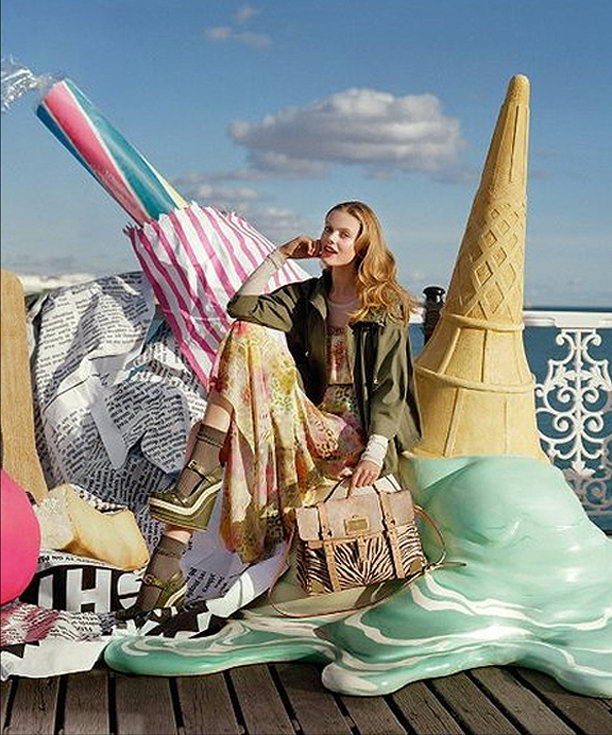 Mulberry Spring 2012 Ad Campaign