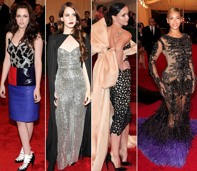 The worst Dressed at The Met Ball 2012