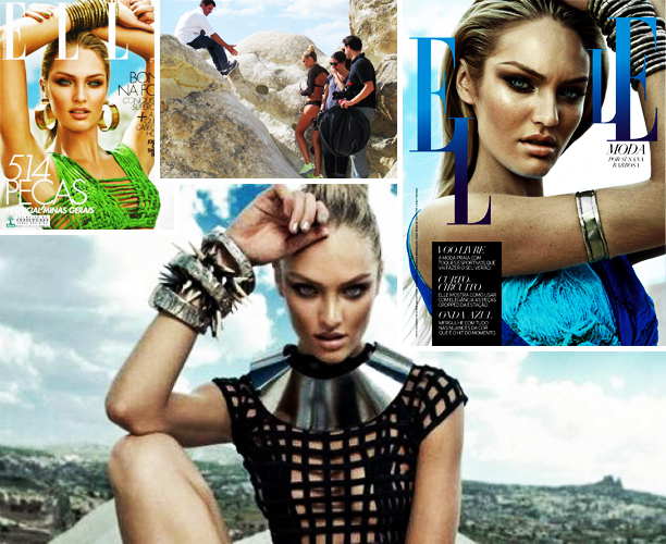Candice Swanepoel Elle Cover