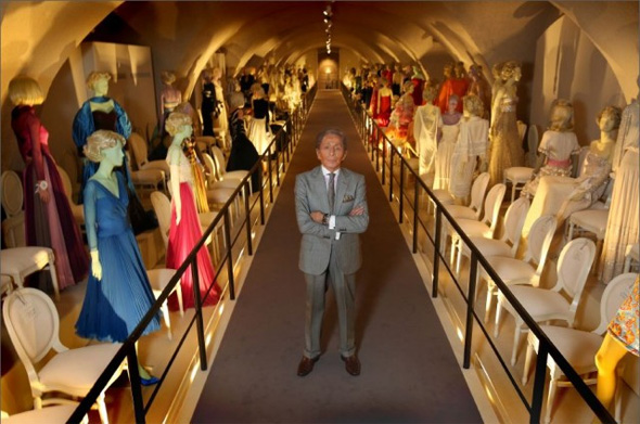 Valentino: Master of Couture Somerset House Show