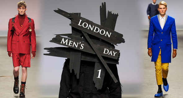 London Men's Fall Winter 2013 collections Day 1