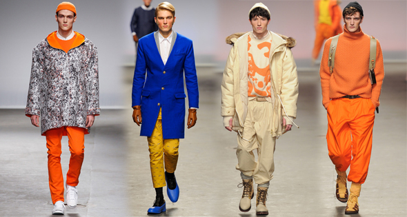 Bright colors for Fall Winter 2013