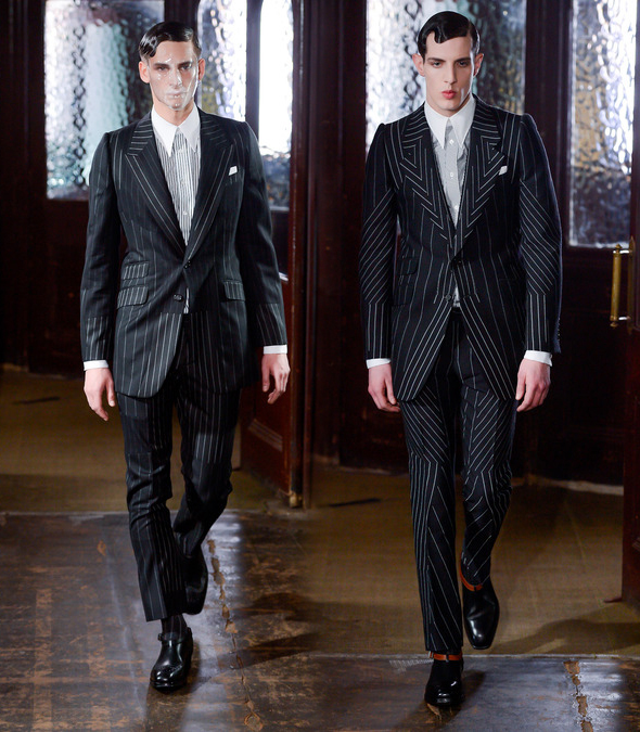 Working with pinstripes in a new way
