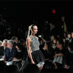 Karlie Kloss in the most sparkly finale @MichaelKors gown EVER! Photo by Mark St. James