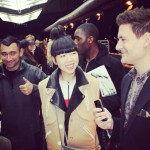 Me on the @dieselblackgold runway with @susiebubble and @Formichetti Love Them!