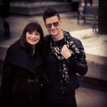 @Jeanne_Beker and I after the @VAWK Fall 2013 show.