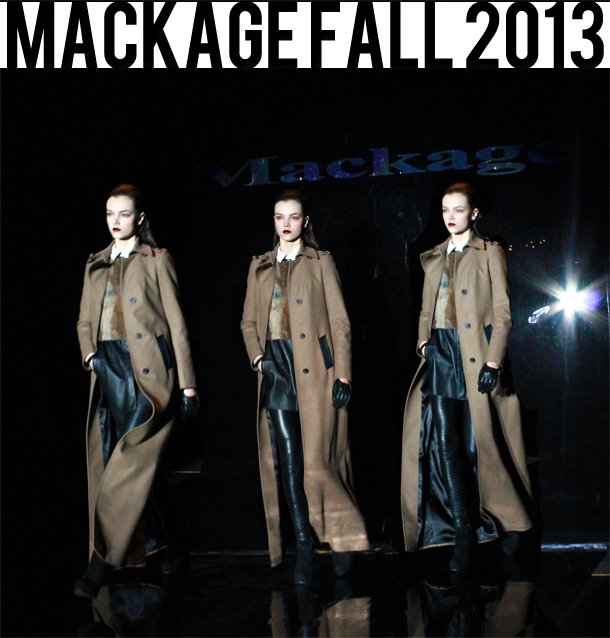 mackage fall 2013 collection