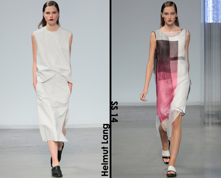 Helmut Lang Spring 2014 review