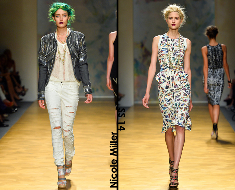 Nicole Miller Spring 2014 Collection Review