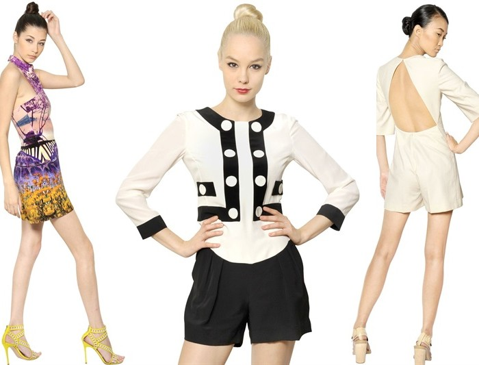 High Fashion Rompers from Mary Katrantzou Moschino and Stella McCartney
