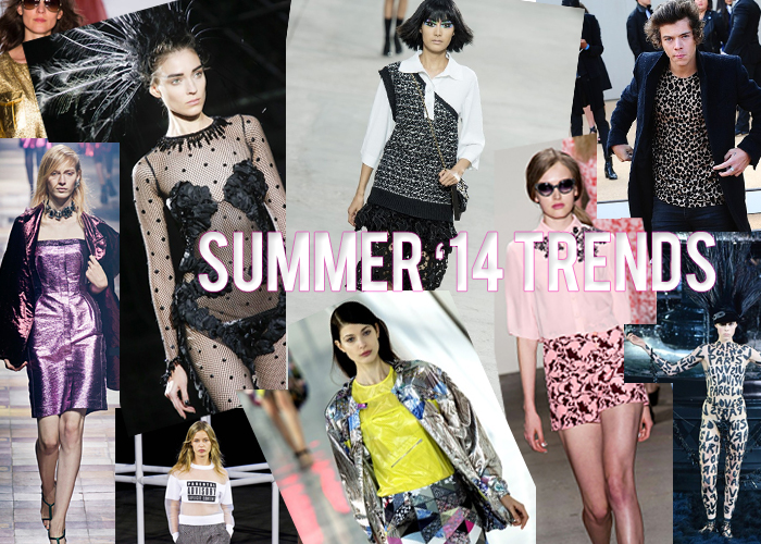 Spring/Summer 2014 Fashion Trends