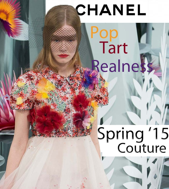 Chanel Couture and Pop Tarts