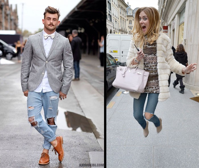 How To Understand the ripped jean trend