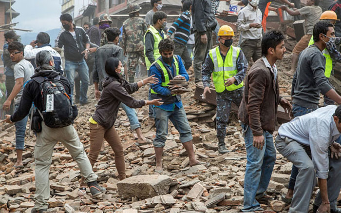 Donate now to the Nepal Disaster Relief Efforts