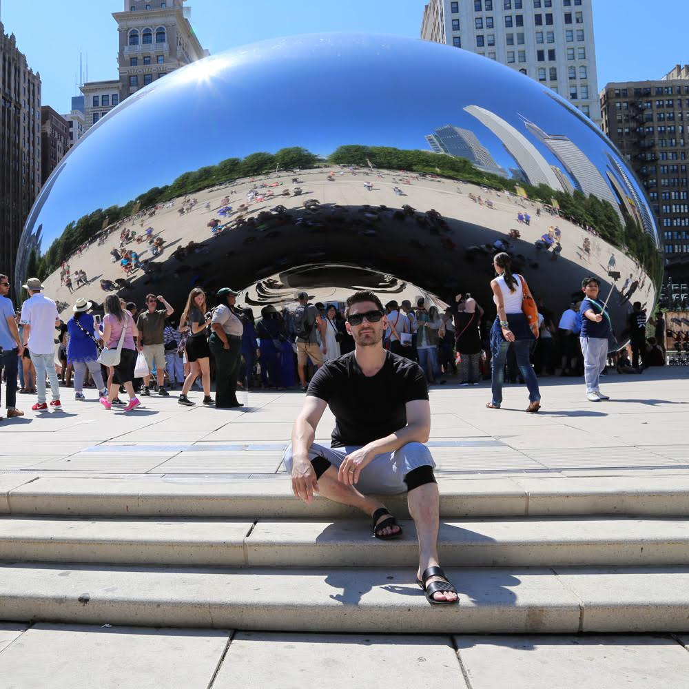 When I met the Chicago bean for the first time