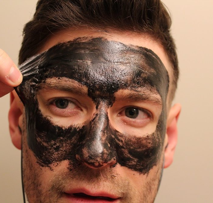 Peel off charcoal face mask