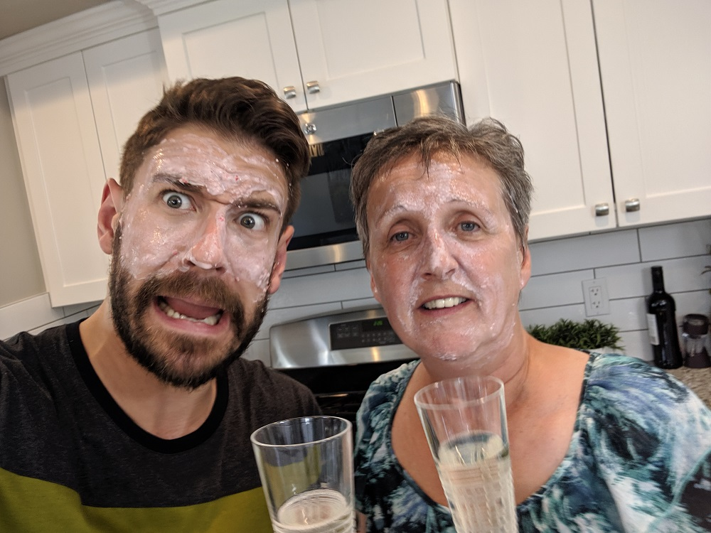Awful Champagne Face Mask Review