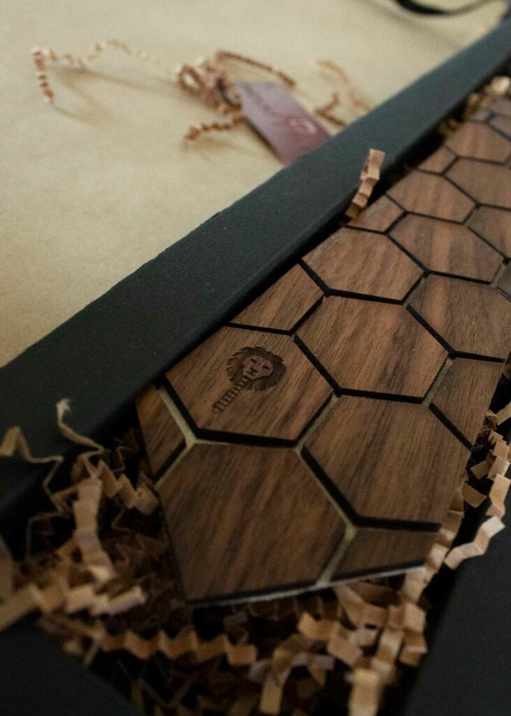 A Wooden Tie That'll Spruce You Up